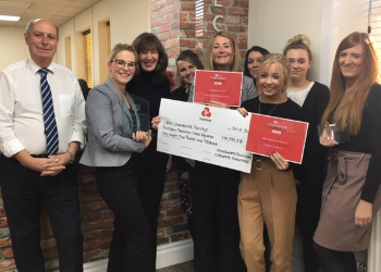Houldsworth Solicitors are winners of the East Lancashire Hospice Corporate Challenge